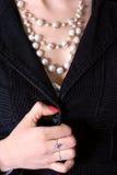 Halskette Lizenzfreies Stockbild