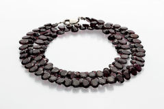 Halskette des Granatapfels Stockfotografie