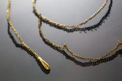 Halskette, Horad von Aliseda Replik z.Z. gehalten bei Interpreta stockfotografie