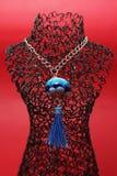 Halskette mit Aufhänger Lizenzfreies Stockfoto