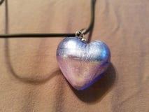 Halskette mit Herzen Lizenzfreie Stockbilder