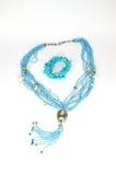 Halskette und Armband Stockfoto