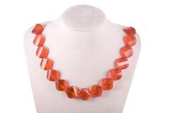 Halskette von rubasse lizenzfreie stockfotografie