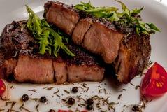 Halslapje vlees Stock Fotografie
