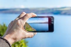 Halsowanie fotografie z Smartphone Zdjęcia Royalty Free