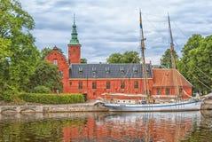 Halstad slott 03 Royaltyfri Bild