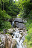 Halstat Austria Waterfall Royalty Free Stock Images