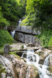 Halstat Austria Waterfall Stock Image
