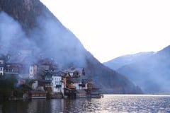 Halstatt i Österrike Royaltyfria Bilder