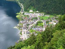 Halstatt. One of the most beautiful town in Austria Stock Photography