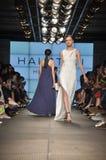 Halston遗产时装表演 库存图片