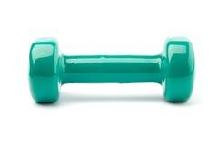 Haltère de turquoise Photographie stock