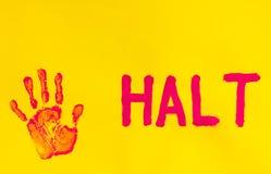 halt stock foto's