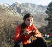 Halt in hike Stock Photography