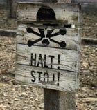 Halt! Stoj! Royalty Free Stock Photos