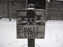 Halt! Stop! Royalty Free Stock Photos