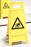 Halt yttersidatecken för varning arkivbilder