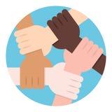 Halten für solidarität Lizenzfreie Stockbilder