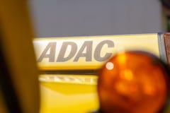 Halten Sie Auto von ADAC instand Lizenzfreie Stockbilder