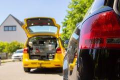 Halten Sie Auto von ADAC instand Lizenzfreies Stockfoto