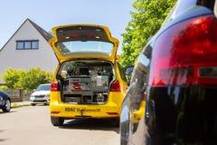Halten Sie Auto von ADAC instand Lizenzfreie Stockfotografie