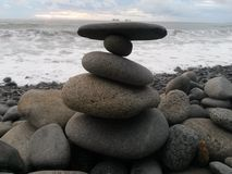 Halten Sie die Balance Stockfoto