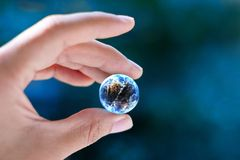 Halten Sie die Welt Lizenzfreie Stockfotografie