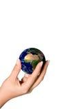 Halten Sie Erde sicher Lizenzfreie Stockfotos