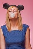 Halten Sie Ihr Auge auf der Luftblase Lizenzfreie Stockfotografie