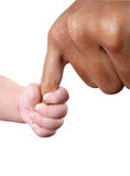 Halten Sie meine Hand an Lizenzfreies Stockbild