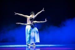 Halten Sie an modernen Tanz der Liebe-D Stockfotografie