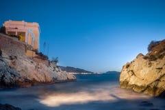Halten Sie ruhiges Marseille südlich von Frankreich stockbild