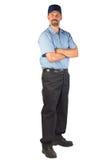 Halten Sie Techniker Ready instand, um behilflich zu sein Lizenzfreies Stockfoto