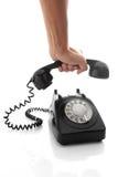 Halten Sie Telefon an Stockfotos