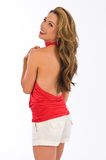 Halter rouge image stock