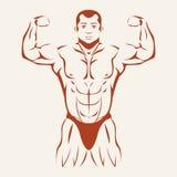 Halterofilismo e powerlifting Exibição do halterofilista Foto de Stock