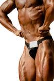 Halterofilista do atleta do close up Imagens de Stock