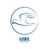 Haluk animal icon. Bird design. Vector graphic Stock Photography