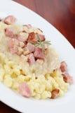halushky nationell slovak för mat royaltyfri bild