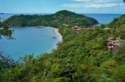 Halvö Papagayo i Guanacaste, Costa Rica Royaltyfri Bild