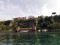 Halvön av Sorrento i Italien Royaltyfria Foton
