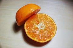 Halv apelsin överst Fotografering för Bildbyråer
