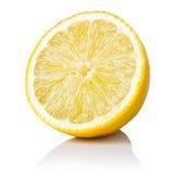 Halv citron Arkivbild