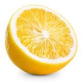 Halv citron fotografering för bildbyråer