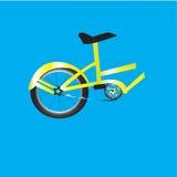 Halv cykel Stock Illustrationer