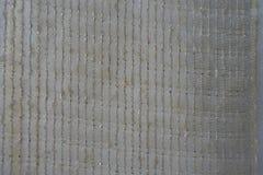 Halv-genomskinligt rent tyg med guld- band arkivfoto