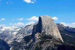 Halv kupol, Vernal och Nevada Falls, Yosemite nationalpark Royaltyfri Fotografi