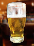 Halv liter ett öl Arkivfoto