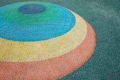 Halv sfär för momentfärg Arkivbilder