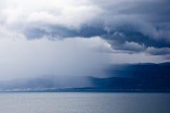 Halv storm Arkivbild